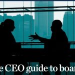 The CEO guide to boards, McKinsey&Company